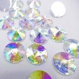 Satelite 16mm Crystal AB - Acryl Naaisteen_