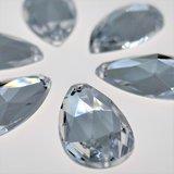 Druppel 12x20mm Crystal - Acryl Naaisteen_