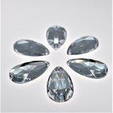 Druppel 14x24mm Crystal - Acryl Naaisteen_