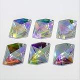 Cosmic 21mm Crystal AB - Acryl Naaisteen_