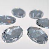 Ovaal 15x21mm Crystal - Acryl Naaisteen_
