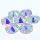 Rivoli 16mm Crystal AB - Glas Naaisteen_
