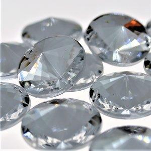 Satelite 12mm Crystal - Acryl Naaisteen