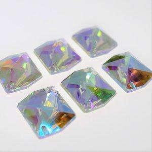 Cosmic 18mm Crystal AB - Acryl Naaisteen